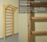 Гимнастическая лестница (шведская стенка)