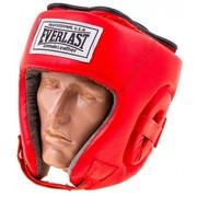 Шлем боксёрский Everlast открытый (кожа)